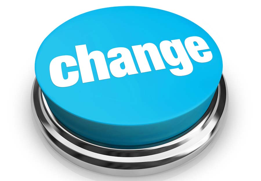 Change – Blue Button